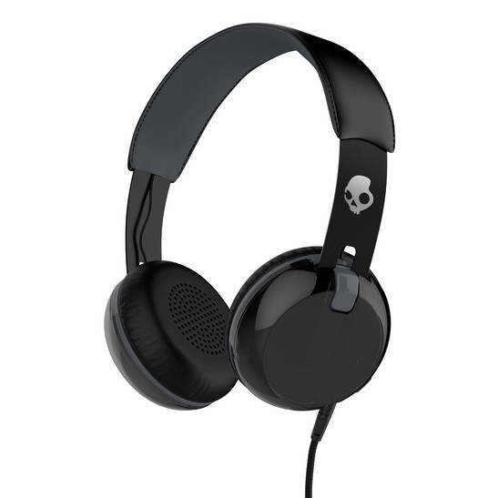 Skullcandy GRIND ON-EAR W/TAP TECH, Black