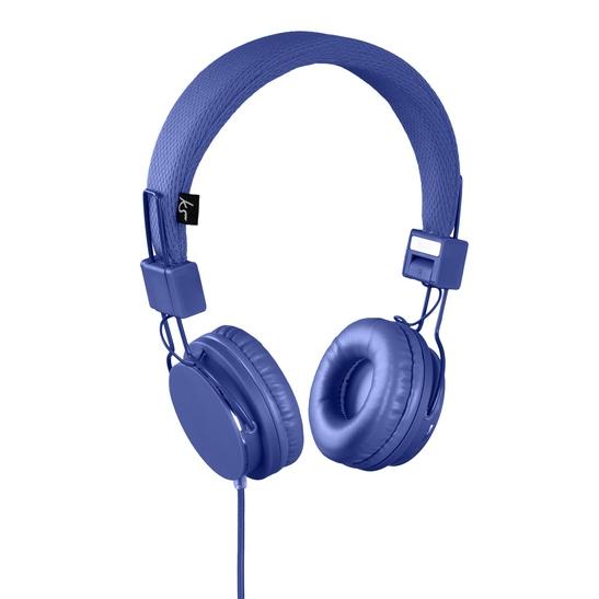 KITSOUND Kuuloke Malibu On-Ear Mic Blue
