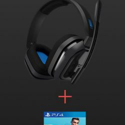 Astro - A10 Gaming Headset PS4+PC Grey/Blue incl FIFA 19 Free Game Bundle