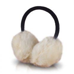 Forever Fluffy korvakuulokkeet - valkoinen