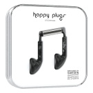 Happy Plugs Earbud Musta marmori