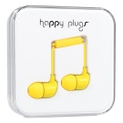 Happy Plugs In-Ear Keltainen