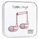 Happy Plugs In-Ear Vaaleanpunainen Kultaa