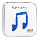 Happy Plugs Koboltti 3,5mm With Mic + Adapter