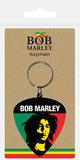 Keychain: Bob Marley - Colours - Plectrum