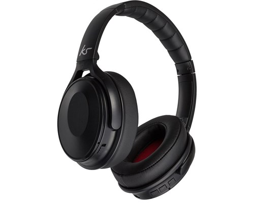 Kitsound Immerse Nc Wireless Over-ear Black Musta