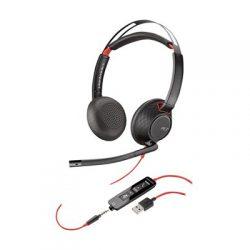 Plantronics 5220 Blackwire Usb Stereo Musta