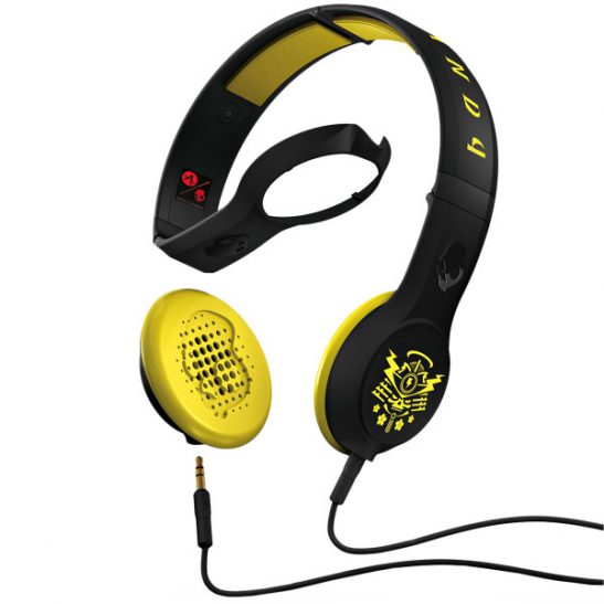 Skullcandy CASSETTE Sacred Samari Black/Yellow