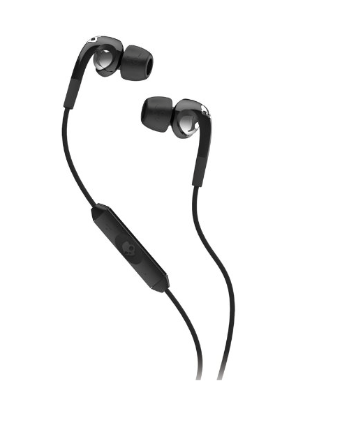 Skullcandy FIX IN EAR Black / Chrome w/ Mic3 Nappikuuloke