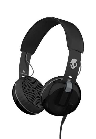 Skullcandy GRIND ON-EAR W/TAP TECH Black Sankakuulokkeet