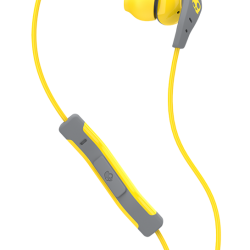 Skullcandy METHOD Nappikuuloke Yellow/Gray/Yellow