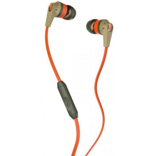 Skullcandy RIOT IN-EAR W/MIC 1 CAMO/ORANGE/SLATE Nappikuuloke