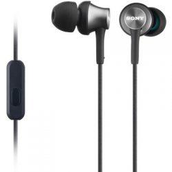Sony Mdr Ex450aph - Musta/hopea Musta