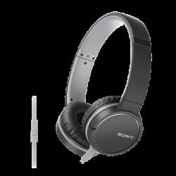 Sony Mdr-zx660ap Harmaa, Musta