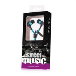 Street Music Vetoketju nappikuuloke - Sininen