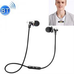 XT-11 Bluetooth Headset Magneettinen - Hopea
