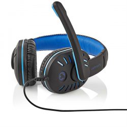 Nedis Gamingheadset - Over-ear, Mikrofon