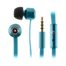 KitSound Ribbons In-Ear Mic Kuuloke, Sininen