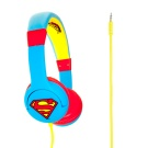 Kitsound Superman On-Ear headphones Blue / Red