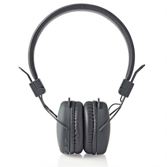 Nedis Bluetooth kuulokkeet - On-ear, Harmaa