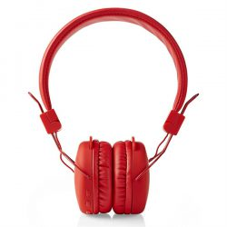 Nedis Bluetooth kuulokkeet - On-ear, Punainen