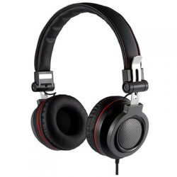 Voxicon On-ear Headphone Musta