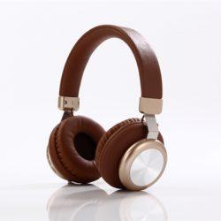 Trådlöst on ear headset - Brun
