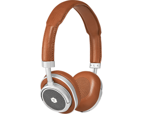 07659 Master&dynamic Mw50+ Wireless On/over-ear - Silver/brown