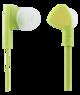 STREETZ kuulokemikrofoni, in-ear, vastauspainike, 3,5mm, limetinvihreä