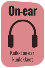 on-ear kuulokkeet